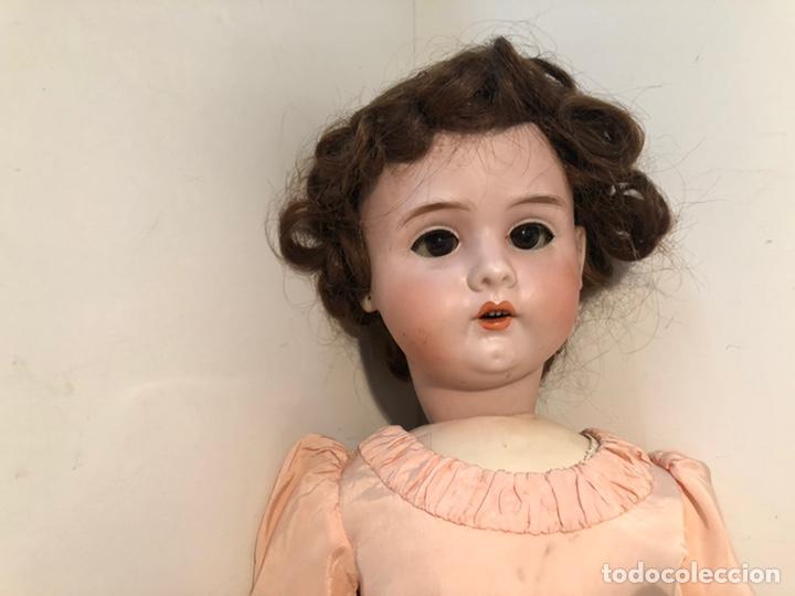 Muñecas Porcelana: BONITA MUÑECA PORCELANA ARTICULADA MARCA ANCLA ANCORA LC Nº13. 71CM. - Foto 3 - 191486617