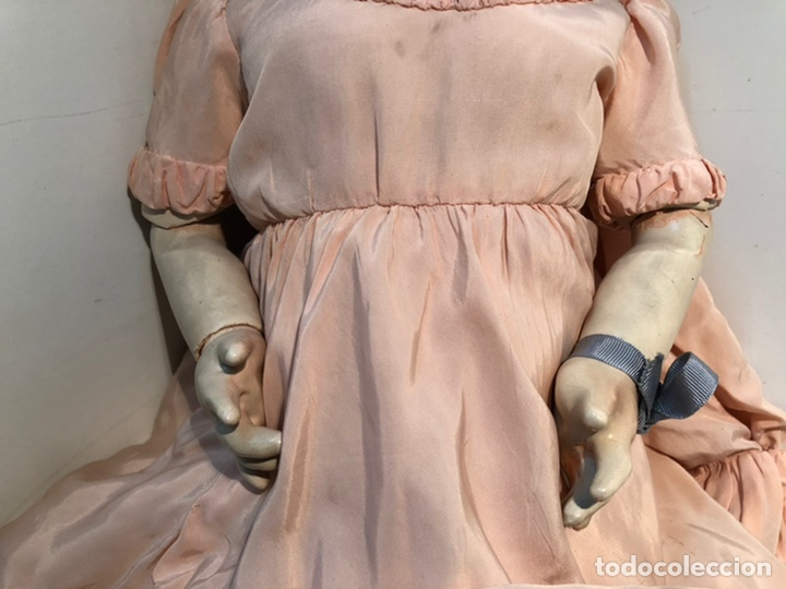Muñecas Porcelana: BONITA MUÑECA PORCELANA ARTICULADA MARCA ANCLA ANCORA LC Nº13. 71CM. - Foto 6 - 191486617