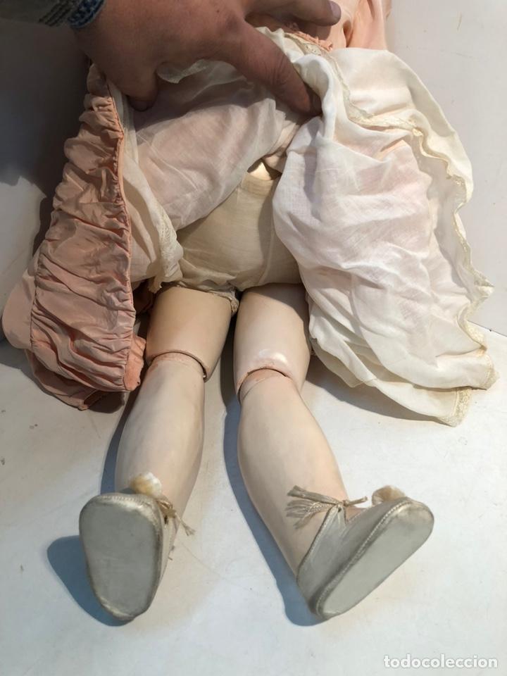 Muñecas Porcelana: BONITA MUÑECA PORCELANA ARTICULADA MARCA ANCLA ANCORA LC Nº13. 71CM. - Foto 9 - 191486617