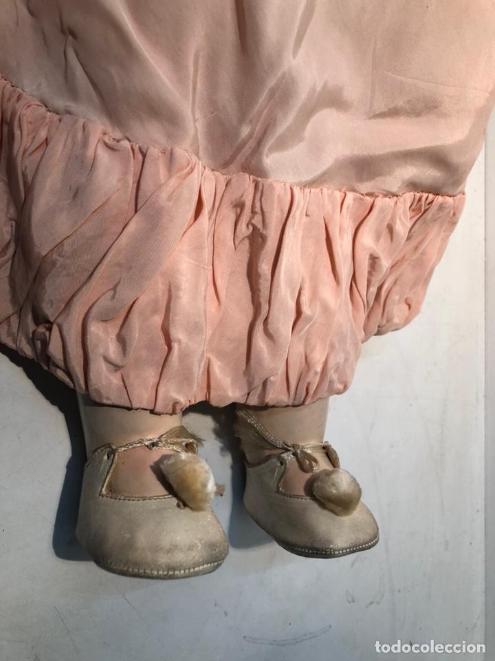 Muñecas Porcelana: BONITA MUÑECA PORCELANA ARTICULADA MARCA ANCLA ANCORA LC Nº13. 71CM. - Foto 13 - 191486617