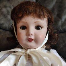 Muñecas Porcelana: MUÑECA COLECCIONISMO DE UNIS FRANCE CON MARCA EN EL INTERIOR DE LA CABEZA, EN NEGATIVO. Lote 191526667