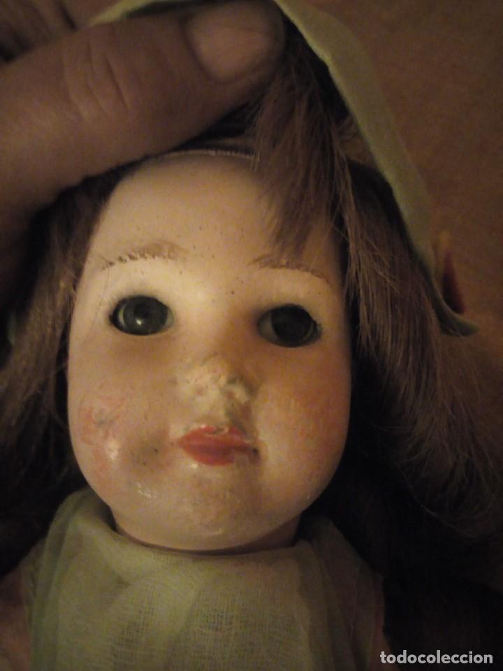Muñecas Porcelana: Antigua Muñeca Biscuit, SFBJ paris,1910,pelo natural,ojos de cristal, - Foto 16 - 191744767
