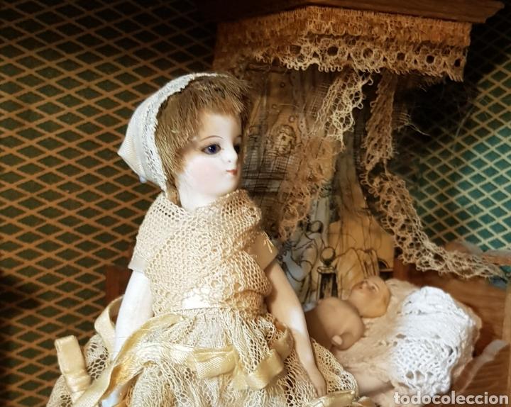 Muñecas Porcelana: Rara mignionette francesa pies descalzos - Foto 3 - 192209667