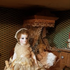 Muñecas Porcelana: RARA MIGNIONETTE FRANCESA PIES DESCALZOS. Lote 192209667