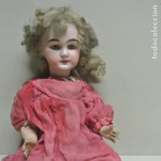 Muñecas Porcelana: ANTIGUA MUÑECA FRANCESA. MARCA ANCORA. PORCELANA, CARTON PIEDRA.. Lote 192932915