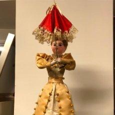 Muñecas Porcelana: AUTÓMATA S. XIX - MUÑECA FRANCESA - MOVIMIENTO DE APERTURA PARAGUAS. Lote 193553887