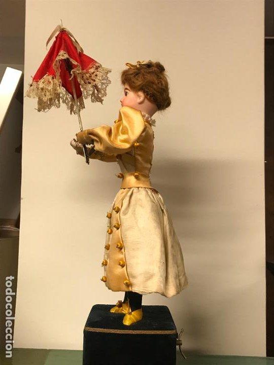 Muñecas Porcelana: AUTÓMATA S. XIX - MUÑECA FRANCESA - MOVIMIENTO DE APERTURA PARAGUAS - Foto 2 - 193553887