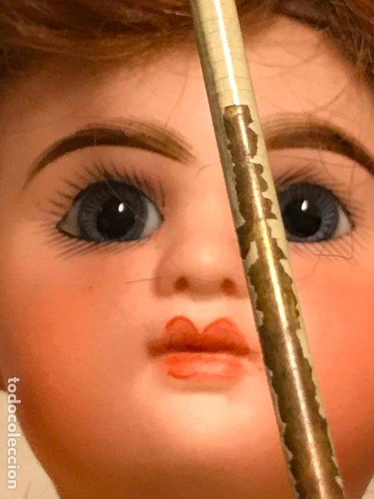 Muñecas Porcelana: AUTÓMATA S. XIX - MUÑECA FRANCESA - MOVIMIENTO DE APERTURA PARAGUAS - Foto 8 - 193553887