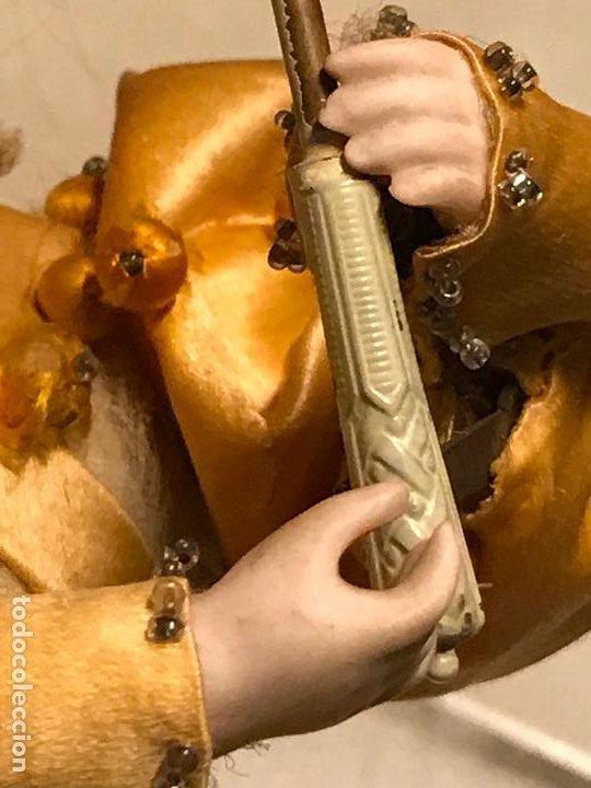 Muñecas Porcelana: AUTÓMATA S. XIX - MUÑECA FRANCESA - MOVIMIENTO DE APERTURA PARAGUAS - Foto 9 - 193553887