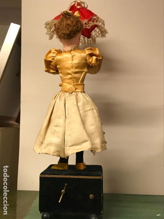 Muñecas Porcelana: AUTÓMATA S. XIX - MUÑECA FRANCESA - MOVIMIENTO DE APERTURA PARAGUAS - Foto 17 - 193553887
