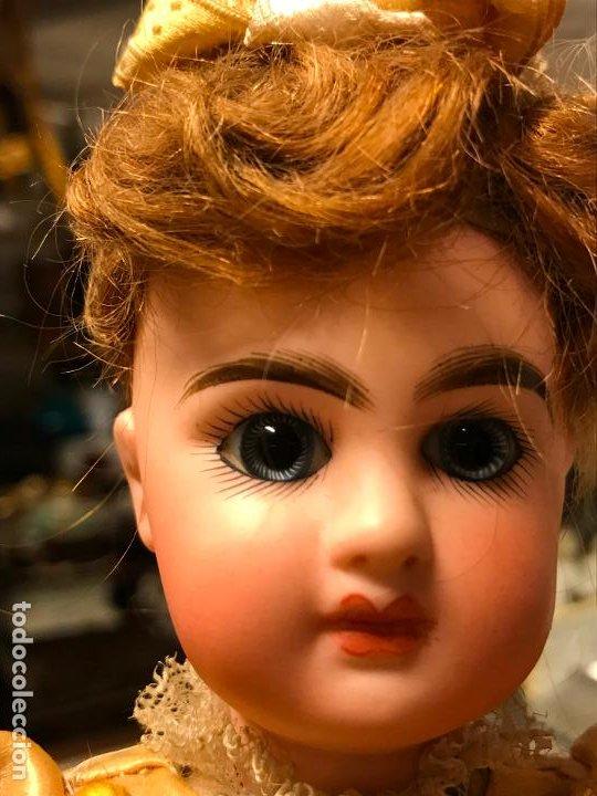 Muñecas Porcelana: AUTÓMATA S. XIX - MUÑECA FRANCESA - MOVIMIENTO DE APERTURA PARAGUAS - Foto 35 - 193553887