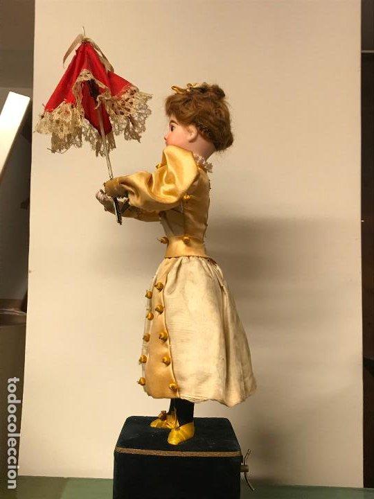Muñecas Porcelana: AUTÓMATA S. XIX - MUÑECA FRANCESA - MOVIMIENTO DE APERTURA PARAGUAS - Foto 40 - 193553887