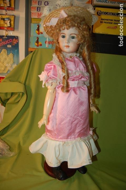 Muñecas Porcelana: jumeau triste de reproducción - Foto 3 - 194679025