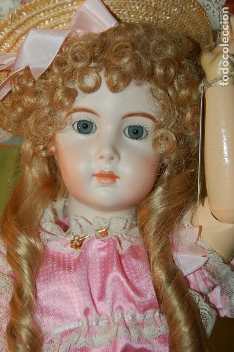 Muñecas Porcelana: jumeau triste de reproducción - Foto 4 - 194679025