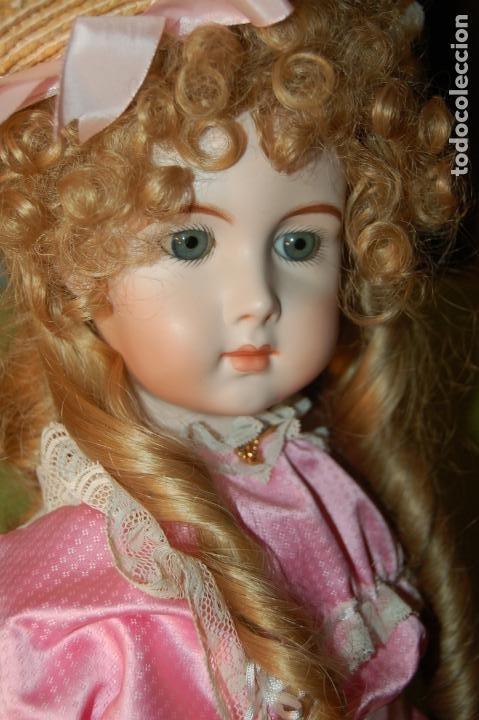 Muñecas Porcelana: jumeau triste de reproducción - Foto 6 - 194679025