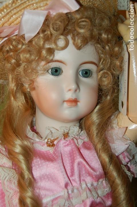 Muñecas Porcelana: jumeau triste de reproducción - Foto 10 - 194679025