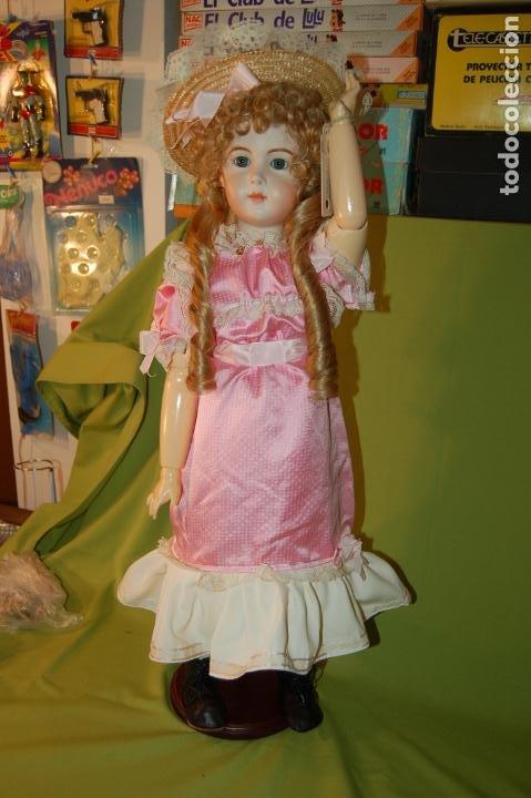 Muñecas Porcelana: jumeau triste de reproducción - Foto 11 - 194679025