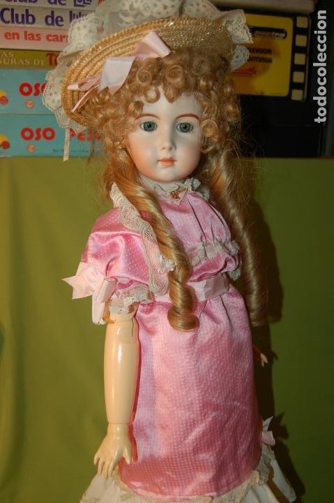 Muñecas Porcelana: jumeau triste de reproducción - Foto 13 - 194679025