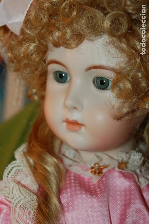 Muñecas Porcelana: jumeau triste de reproducción - Foto 14 - 194679025