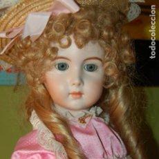 Muñecas Porcelana: JUMEAU TRISTE DE REPRODUCCIÓN. Lote 194679025