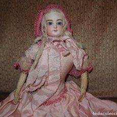 Bonecas Porcelana: MUÑECA FRANÇOIS GAULTIER,PARISIENNE,FRANCE,PORCELANA,FINALES DEL SIGLO XIX. Lote 195685587