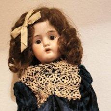 Muñecas Porcelana: MUÑECA LECONTE. PORCELANA Y MADERA. FRANCIA. PRINC. S. XX. Lote 196392997