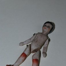 Muñecas Porcelana: ANTIGUA MUÑECA ARTICULADA DE BISCUIT - PORCELANA - AÑOS 30-40. Lote 198807212