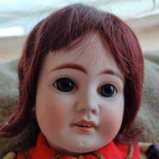 Muñecas Porcelana: MUÑECA ANTIGUA FRANCESA FLEISCHMANN & BLÖDEL 50 CM. Lote 199230510
