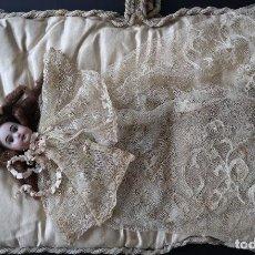 Muñecas Porcelana: CURIOSA MUÑECA DURMIENTE S. XIX. Lote 199416841