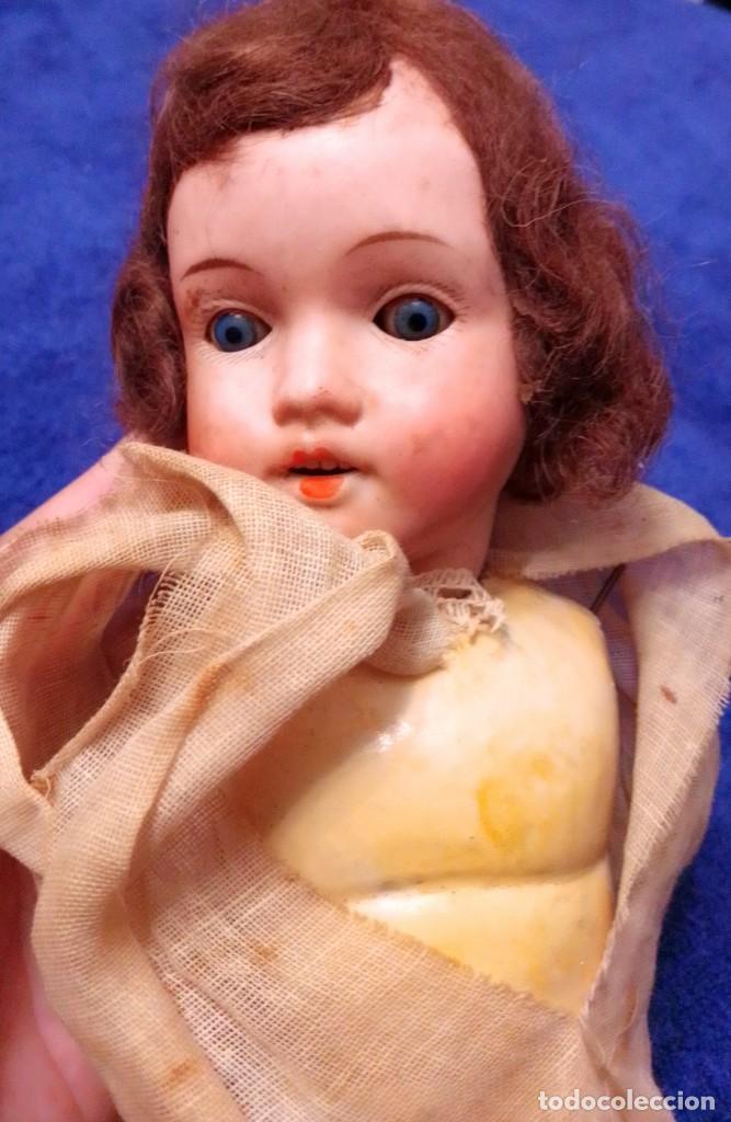 ANTIGUA MUÑECA DE PORCELANA DE 1900 PARA RESTAURAR (Juguetes - Muñeca Extranjera Antigua - Porcelana Francesa)