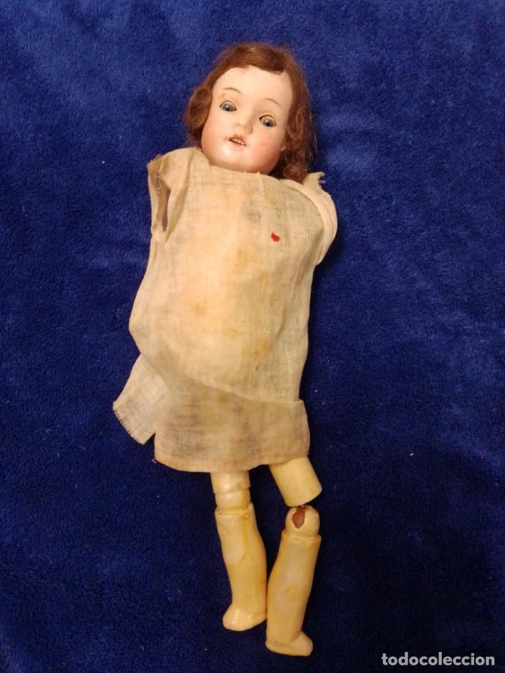 Muñecas Porcelana: Antigua muñeca de porcelana de 1900 para restaurar - Foto 2 - 204631300
