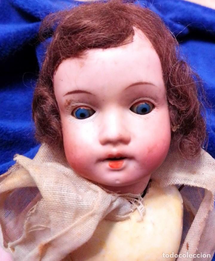 Muñecas Porcelana: Antigua muñeca de porcelana de 1900 para restaurar - Foto 3 - 204631300