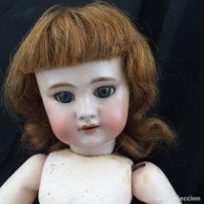 Muñecas Porcelana: ANTIGUA MUÑECA D.E.P FRANCESA. Lote 205520406