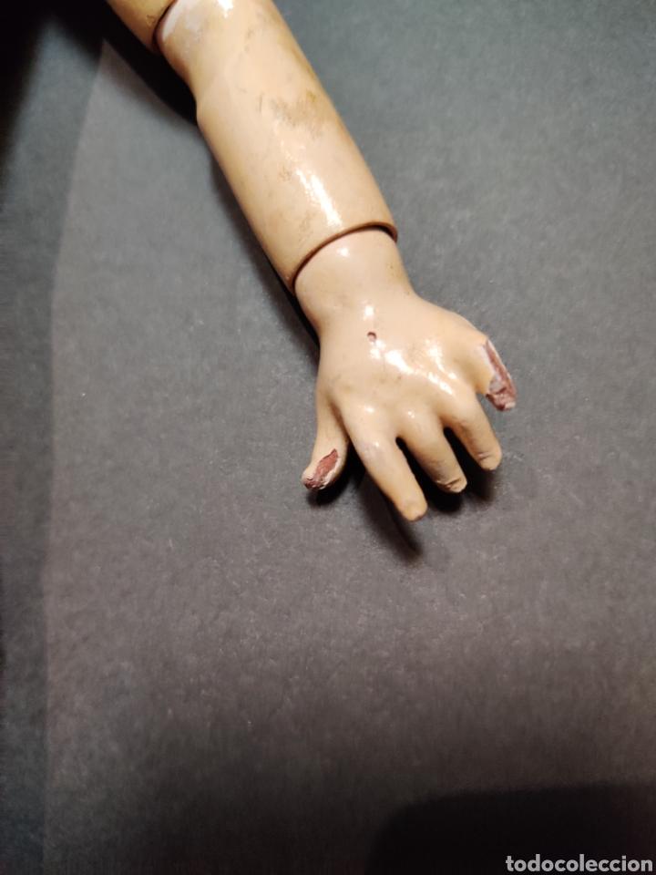 Muñecas Porcelana: Cuerpo de composición francés 33 cm antiguo - Foto 2 - 206130510