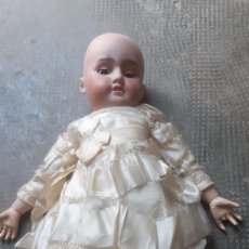 Muñecas Porcelana: MUÑECA ANTIGUA DE PORCELANA ARMAND MARSEILLE DE 1894 PONE DEP TODO ORIGINAL. Lote 206236317