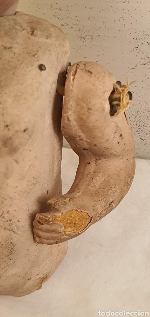 Muñecas Porcelana: RARISIMO MUÑECA CARTONPIEDRA Y CABEZA DE PORCELANA .MUY ANTIGUI - Foto 6 - 206427555