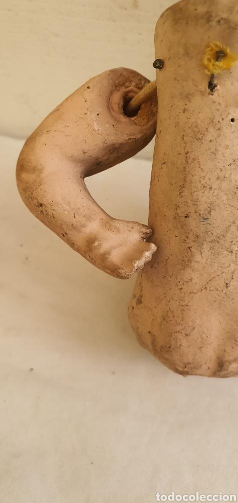Muñecas Porcelana: RARISIMO MUÑECA CARTONPIEDRA Y CABEZA DE PORCELANA .MUY ANTIGUI - Foto 9 - 206427555