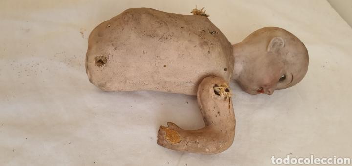 Muñecas Porcelana: RARISIMO MUÑECA CARTONPIEDRA Y CABEZA DE PORCELANA .MUY ANTIGUI - Foto 16 - 206427555