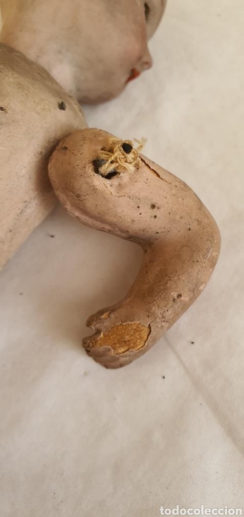 Muñecas Porcelana: RARISIMO MUÑECA CARTONPIEDRA Y CABEZA DE PORCELANA .MUY ANTIGUI - Foto 17 - 206427555