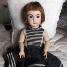 Muñecas Porcelana: EXCEPCIONAL MUÑECA DE PORCELANA FRANCESA JULES STEINER FRE A15 CON MOVIMIENTO AUTÓMATA Y VOZ. Lote 206845401