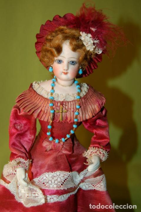 Muñecas Porcelana: autómata gaulthier de 1860 - Foto 2 - 208213103