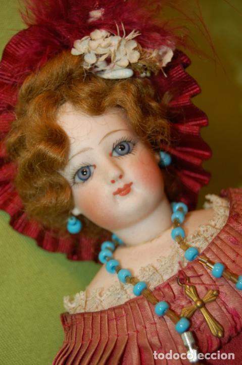 Muñecas Porcelana: autómata gaulthier de 1860 - Foto 3 - 208213103