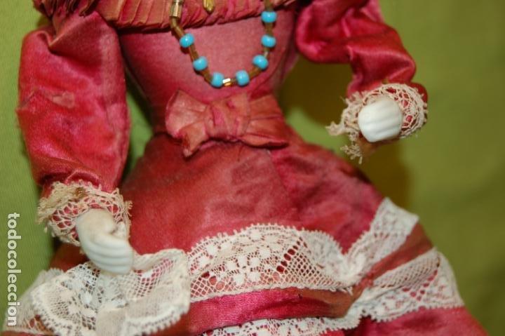 Muñecas Porcelana: autómata gaulthier de 1860 - Foto 4 - 208213103