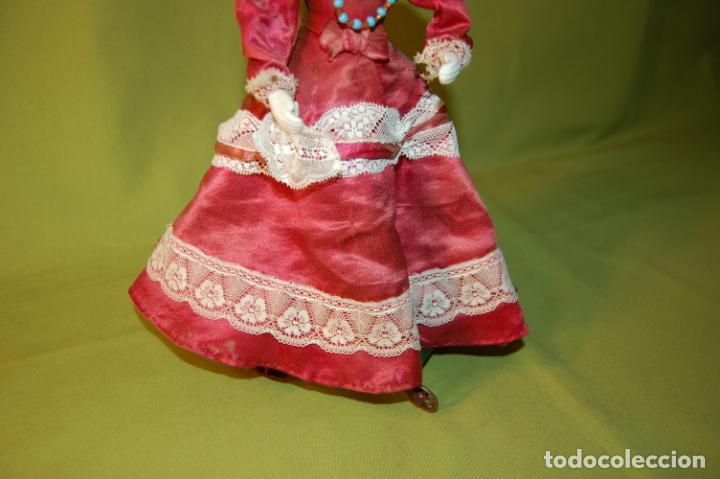 Muñecas Porcelana: autómata gaulthier de 1860 - Foto 9 - 208213103