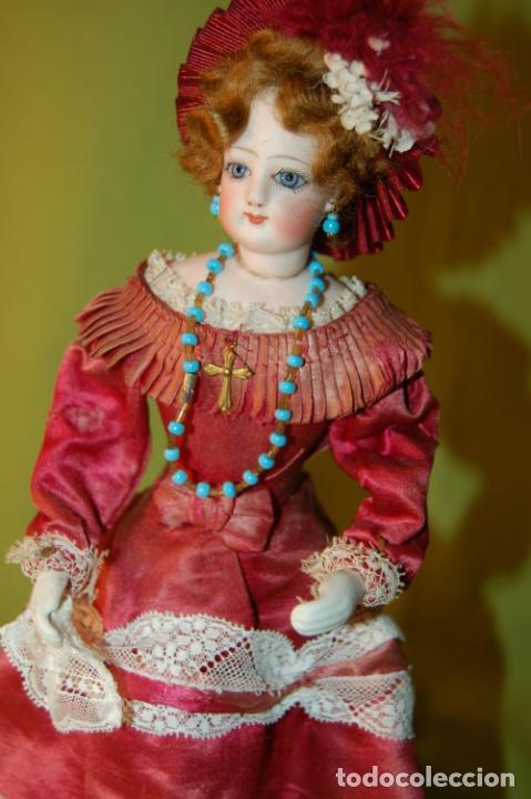 Muñecas Porcelana: autómata gaulthier de 1860 - Foto 11 - 208213103
