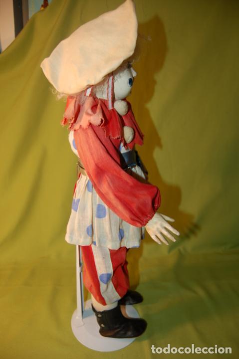 Muñecas Porcelana: payaso francés steiner o rabery delphieu - Foto 6 - 208219097