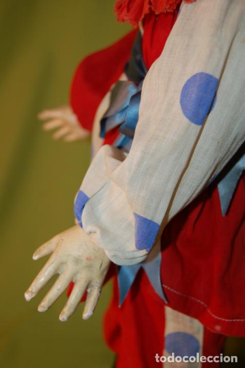 Muñecas Porcelana: payaso francés steiner o rabery delphieu - Foto 12 - 208219097