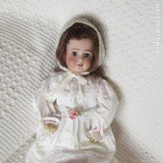 """Bambole Porcellana: PRECIOSA MUÑECA PORCELANA """" DEP 6 """" PELO NATURAL. Lote 215419716"""