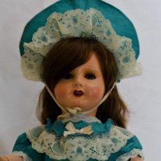 Muñecas Porcelana: IMPECABLE UNIS FRANCE 301 ,MARCADA EN LA CABEZA ,ARTICULADA Y CUERPO ENUMERADO,AÑOS 20. Lote 50852452