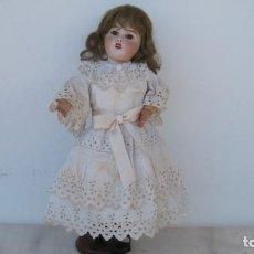 Muñecas Porcelana: MUÑECA FRANCESA DE PORCELANA, MON CHERIE, L. PRIEUR, PARÍS FRANCE. LIMOGES. 47 CM.. Lote 216460367